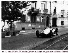 Car racing around Kalemegdan in Belgrade ~ Serbia