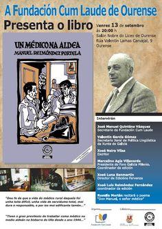 """Presentación do libro """"Un Médico na aldea"""" @ Liceo - Ourense Manuel Reimóndez Portela literatura rural galego humanismo"""