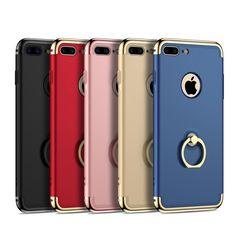 Luxury 3 in 1 Dropproof Full Body Slim Cover 360 Case For iPhone 5 5s 6 6s 6 plus / 6splus 7 Plus 7Plus phone cases