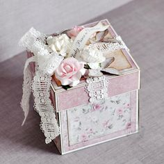 Maja Nowak / Oliwiaen's Gallery: Wedding Exploding Box *GD Maja Design*