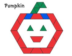 Fall & Halloween Pattern Block Templates - Jessica's Corner of Cyberspace
