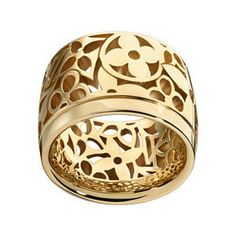 Louis Vuitton monogram Resille ring $3150....expensive taste lol