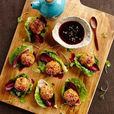 Asian Meatballs | Get ready for the party with these easy finger food and appetiser recipes from Kikkoman Kitchens. Delicious meatballs are perfect for serving as fancy appetisers. Make ahead and relax!