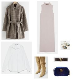 Late Winter/ Winter to Spring Workwear Outfit 2020 Winter Outfits 2019, Winter Dress Outfits, Dress Winter, Tweed, Zara, Gucci, Most Beautiful Dresses, Fancy, Chain Shoulder Bag