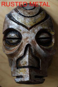 Skyrim Inspired Konahrik Dragon Priest Mask Cosplay wearable Halloween costume The Elder Scrolls V Fan Art- on etsy by Maskforsale