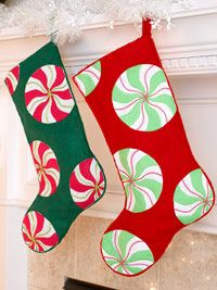 Christmas Candy Stockings