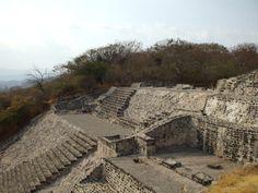 The ruins of Xochicalco.