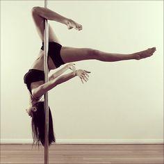 Cliffhanger pose #poledance #polefitness