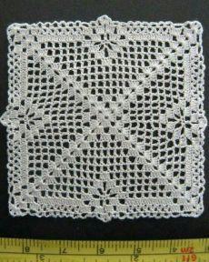 Transcendent Crochet a Solid Granny Square Ideas. Inconceivable Crochet a Solid Granny Square Ideas. Crochet Pillow Pattern, Crochet Bedspread, Crochet Blocks, Crochet Doily Patterns, Granny Square Crochet Pattern, Crochet Tablecloth, Crochet Diagram, Crochet Squares, Thread Crochet