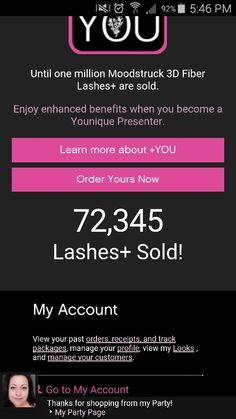 Oh my GOSH!! Its Official 3D Fiber Lash + is NOW AVAILABLE and we are selling 1000 of these per minute. Jump on board the 3D Plus train or get own set at www.youryouniquebynicolle.com  #younique #fabulous #amazing #wowfactor #waterresistant #extremevolume #extremelength #new #lashtastic #mascara #3dfiberlash+