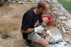 Lavorazione a mano delle pietre