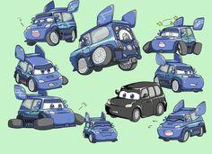 Disney Pixar Cars, Walt Disney, Cars 2 Movie, Car Memes, Lightning Mcqueen, Planes, Aircraft, Comic, Fan Art