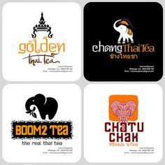 30+ Top For Contoh Desain Logo Thai Tea