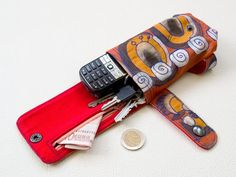 (9) Name: 'Sewing : Glove Wrist Wallet sewing pattern
