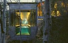 Literal Treehouse: Modern All-Wooden Home in the Forest   Designs & Ideas on Dornob