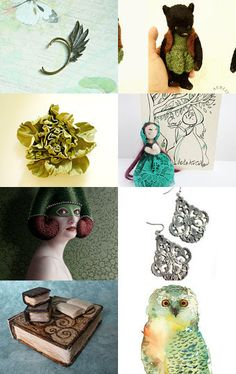 Cool and whimsical gifts! Wonderful gifts by Gioconda Pieracci on Etsy--Pinned with TreasuryPin.com #handmade