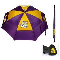 LSU Tigers NCAA 62 inch Double Canopy Umbrella
