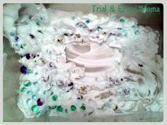 Shaving Cream and Water Beads!