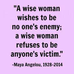 Wisdom of Maya Angelou  #Inspiration