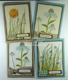 Marelle Taylor Stampin Up! Demonstrator Sydney Australia: Inspired by Nature Stamp-a-Stack