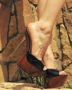 Sexy Legs And Heels, Hot High Heels, Platform High Heels, High Heels Stilettos, High Heel Boots, Stiletto Heels, Talons Sexy, Extreme High Heels, Beautiful High Heels
