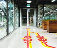 Way-finding through the Faculty of Design, Architecture and Building at The University of Technology, Sydney