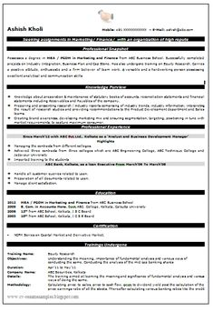 simple resume format for freshers in word file 137085913 png
