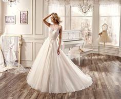 Moda sposa 2016 - Collezione NICOLE.  NIAB16011. Abito da sposa Nicole.