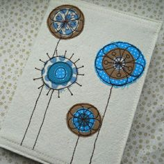 Applique and embroidery flowers? Trees?