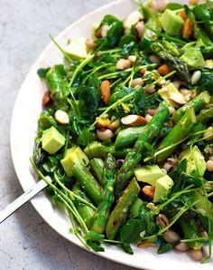Asparagus salad. Get the recipe.