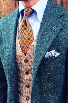 Vintage Mens Wedding Attire For Themed Weddings ★ See more: www.weddingforwar… Related posts: 24 Vintage Mens Wedding Attire For Themed. Vintage Wedding Suits, Vintage Groom, Wedding Men, Trendy Wedding, Vintage Men, Tweed Wedding Suits, Tweed Suits, Men Wedding Dress, Men Wedding Attire