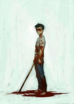 Jason Todd. That blood mask though...