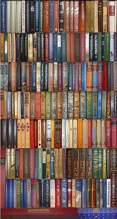 Folio Society books - can pick them up second hand. Beautiful heirloom editions. I have about 10 so far!