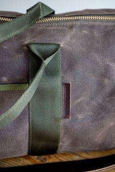 7e39752743b Waxed Canvas Duffel, Duffle Bag, Duffel Bag, Handmade Duffel Bag, Weekender  Duffel