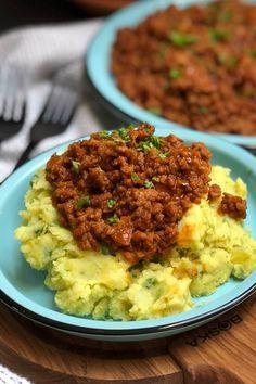 I Love Food, Good Food, Yummy Food, Beef Recipes, Potato Recipes, Super Healthy Recipes, Winter Food, Diy Food, Kitchens