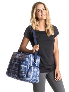 roxy, Sugar It Up - Duffle Bag, AKIYA COMBO BLUE PRINT (bsq7)