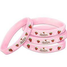 Strawberry shortcake party favor