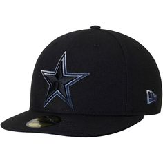 Dallas Cowboys New Era Color Dim 59FIFTY Fitted Hat - Black. Dallas  CowboysCowboys CapNfl DallasChristmas SaleFitted ... d49dbf033