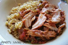 Slow Cooker Sweet and Spicy Chicken - 1/4 cup apricot/peach preserves is the secret ingredient : )
