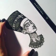 """Résultat de recherche d'images pour """"tatouage nefertiti"""" #RemoveTattooTat"""