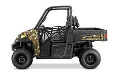 New 2016 Polaris RANGER XP 900 EPS Hunter Edition ATVs For Sale in South Carolina. Hunter Edition Features All the features of the RANGER XP 900 with the addition of Electronic Power Steering (EPS), automotive paint, matte black stamped steel wheels, and cut & sew seats. NEW! Pro-Lock On-Demand All-Wheel Drive for near instant four wheel engagement when more traction is needed PLUS Factory-installed 4,500 lbs. (2041 kg) winch, dual gun scabbards - positioned above the cargo bed - cut & sew…