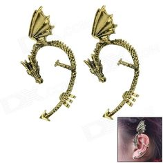 Its special design will make you charmer and elegant. Good quality, delicated arts and crafts. This antique ear climber cuff curves along the ear, gently gripping the edge of your cartilage. It is a good gift for your lover, family, friend and coworkers and good for going party or banquet http://j.mp/1ljMllu