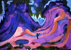Ernst Ludwig Kirchner (1880-1938) Die Amselfuh (1923)