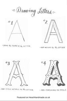 Hand Lettering Alphabet, Calligraphy Letters, Typography Letters, Brush Lettering, Caligraphy, Penmanship, Graffiti Alphabet, Modern Calligraphy, Chalk Typography