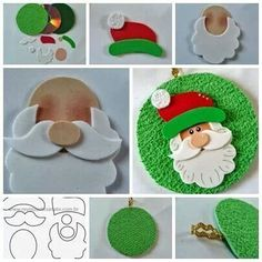 Risultati immagini per moldes de natal Christmas Makes, Noel Christmas, Christmas Projects, Holiday Crafts, Father Christmas, Christmas Templates, Cd Crafts, Felt Crafts, Crafts For Kids