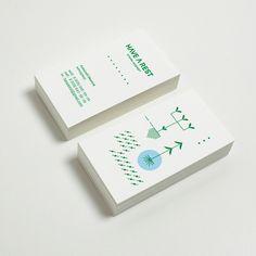 Unique Business Card, Have A Rest #BusinessCards #Design