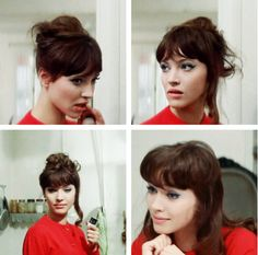"Anna Karina in Jean-Luc Godard's ""A Woman Is a Woman"" (Une femme est une femme) (1961)"