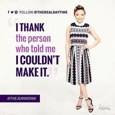 Sometimes the haters help you rise to your full potential. The Real Talk Show, Jeannie Mai, Real Quotes, Instagram Posts, Mindset, Women, Fashion, Moda, Attitude