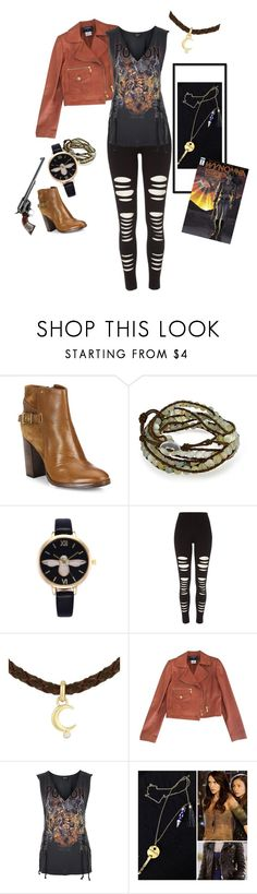 """""""Wynonna Earp 1.0 {Wynonna Earp}"""" by sarah-natalie ❤ liked on Polyvore featuring Frye, Bling Jewelry, River Island, Lucky Brand, Chanel and Topshop"""