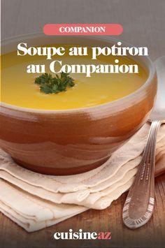 La soupe de potiron est l'entrée d'automne par excellence ! C'est facile de la préparer au Companion.  #recette#cuisine#soupe#courge #potiron #robotculinaire #Companion